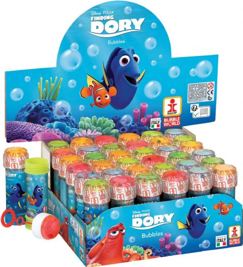 36 x Disney Pixar Finding Dory - Puzzle Maze Tub Bubbles 60ml Wholesale Bulk Buy